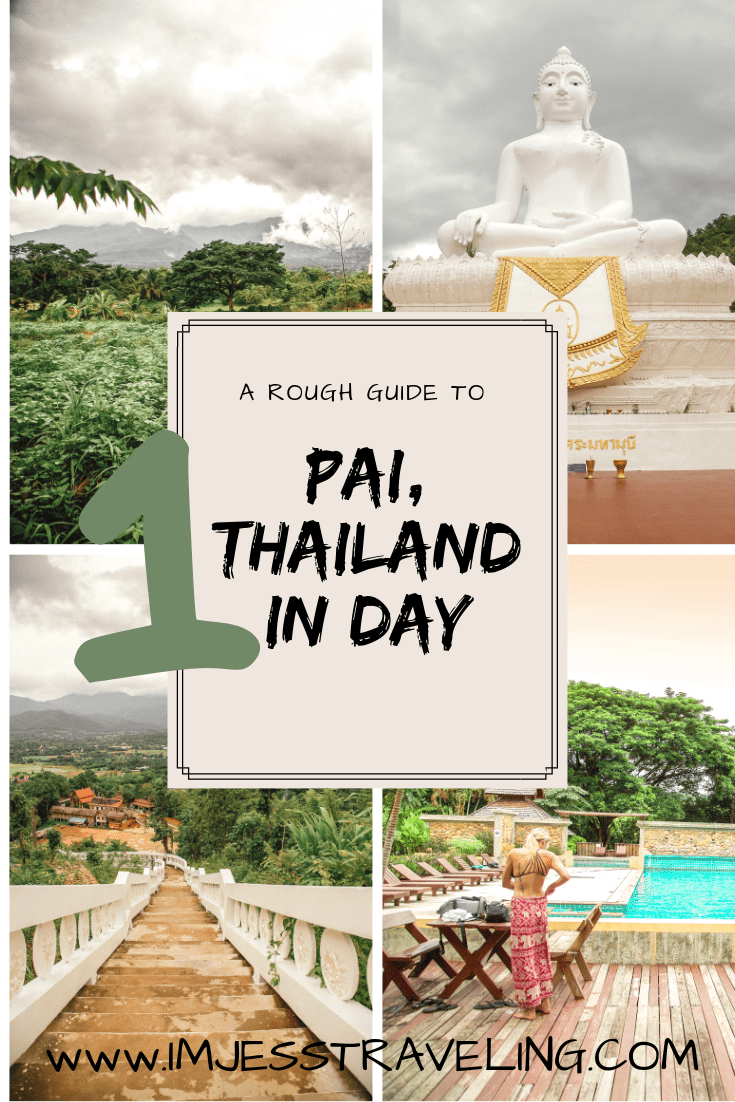 Chiang Mai to Pai Thailand: The Best Day Trip