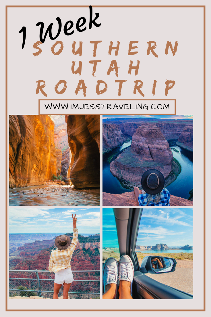 Southern Utah Vacation: 1 Week