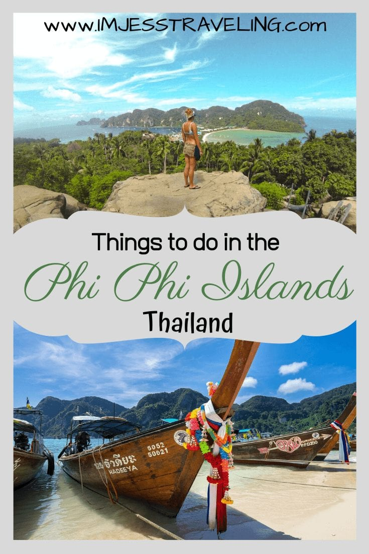Things to do in the Phi Phi Islands, Thailand