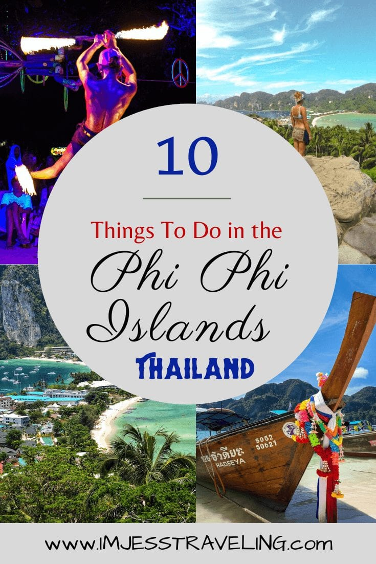Best things to do in the Phi Phi Islands Thailand