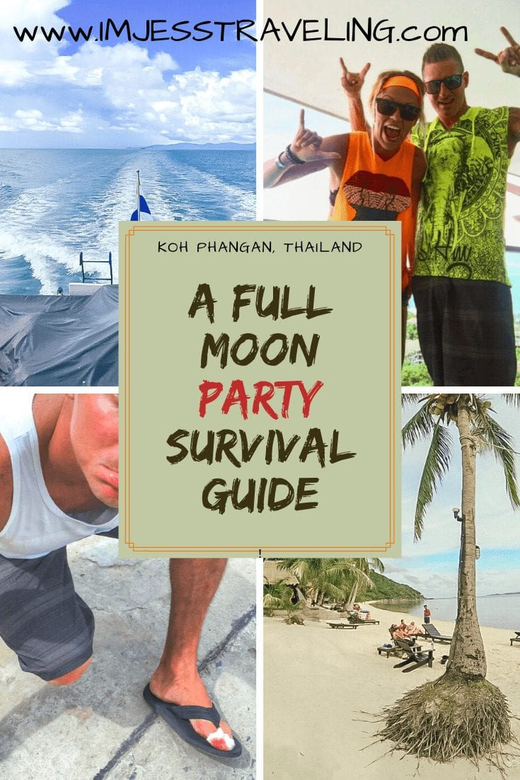 Full Moon Party Thailand Survival Guide