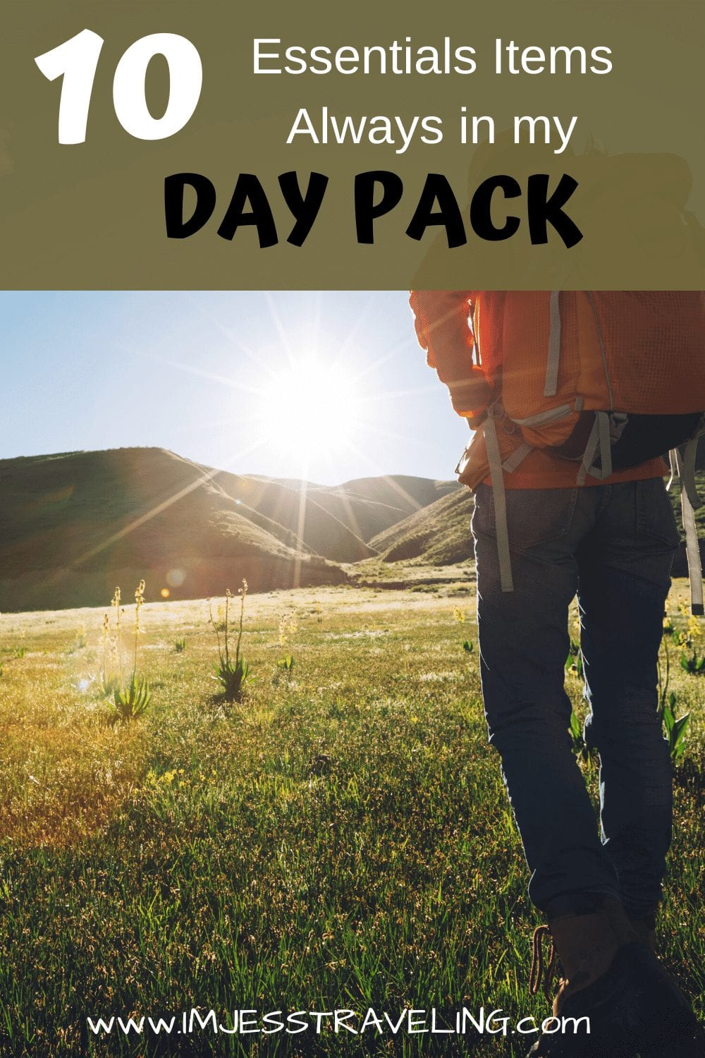 Day hike packing essentials
