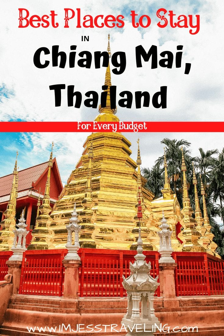 Where to stay in Chiang Mai Thailand
