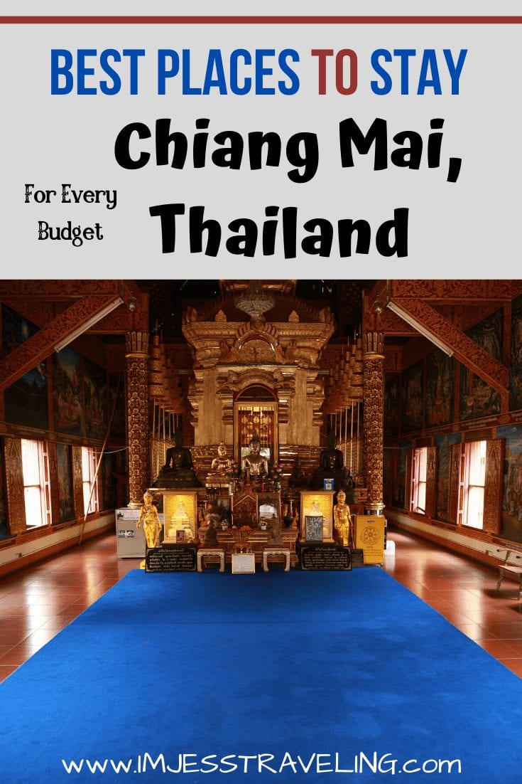 Where to Stay in Chiang Mai, Thailand