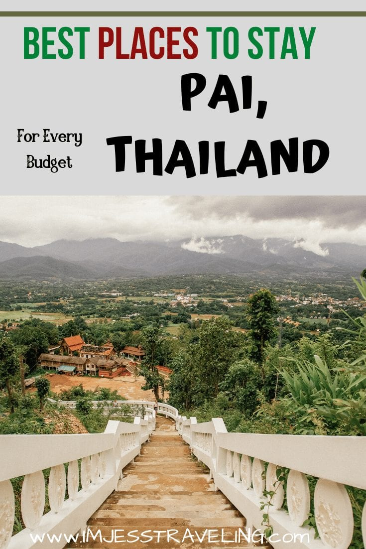 Where to Stay in Pai, Thailand