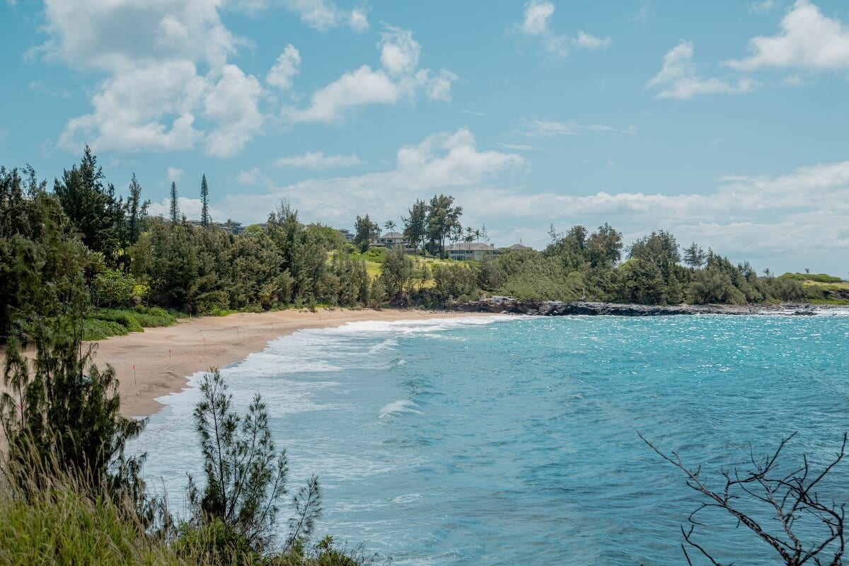 Dt Flemings Beach in Kapalua Maui