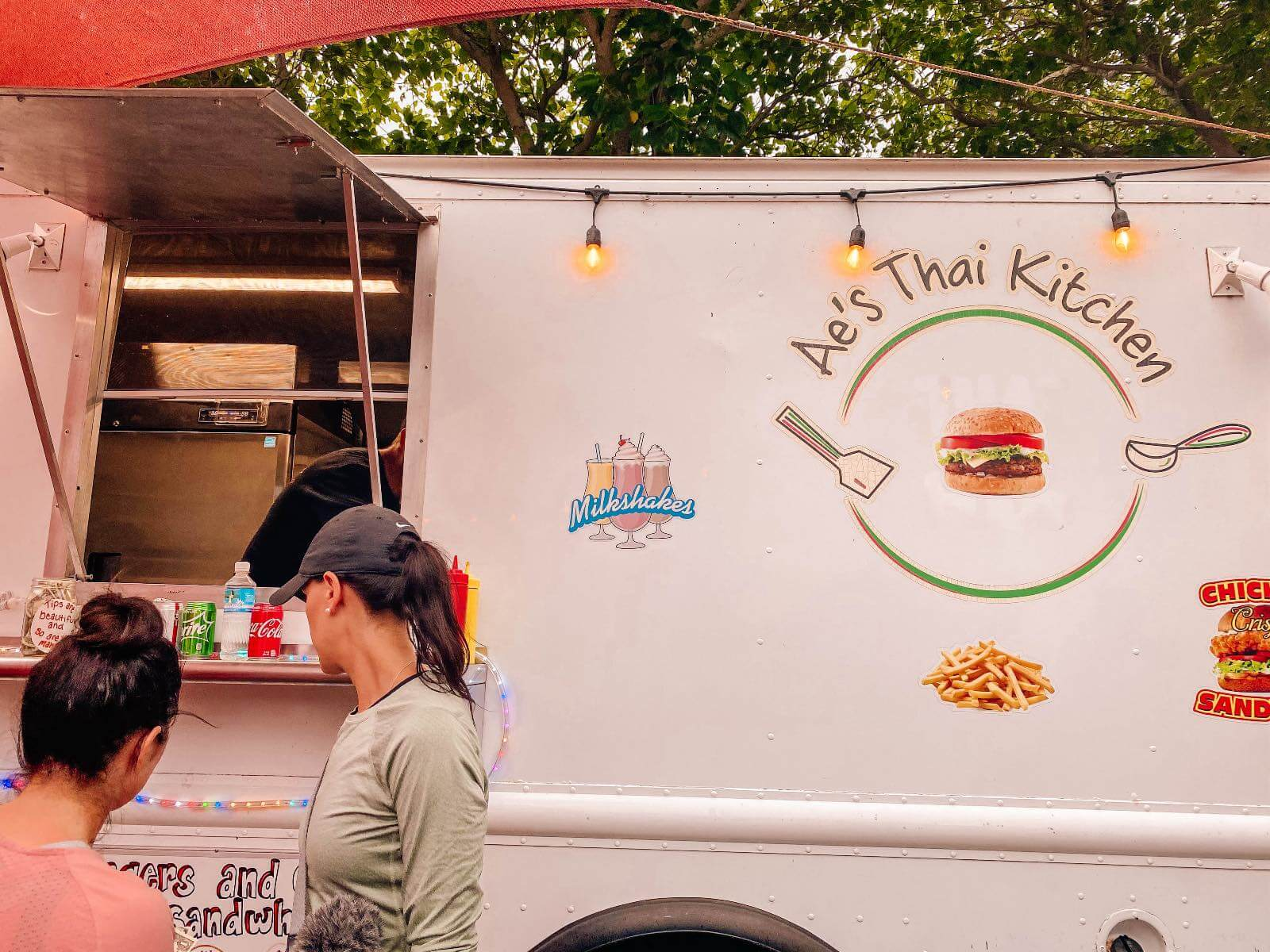 Ae's Thai Kitchen food truck