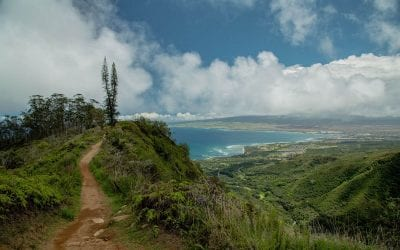 Hiking the Waihee Ridge Trail on Maui, HI