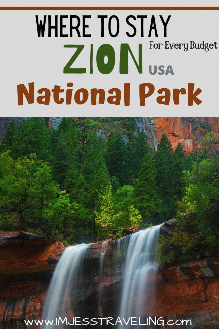 Where to Stay in Zion National Park with I'm Jess Traveling