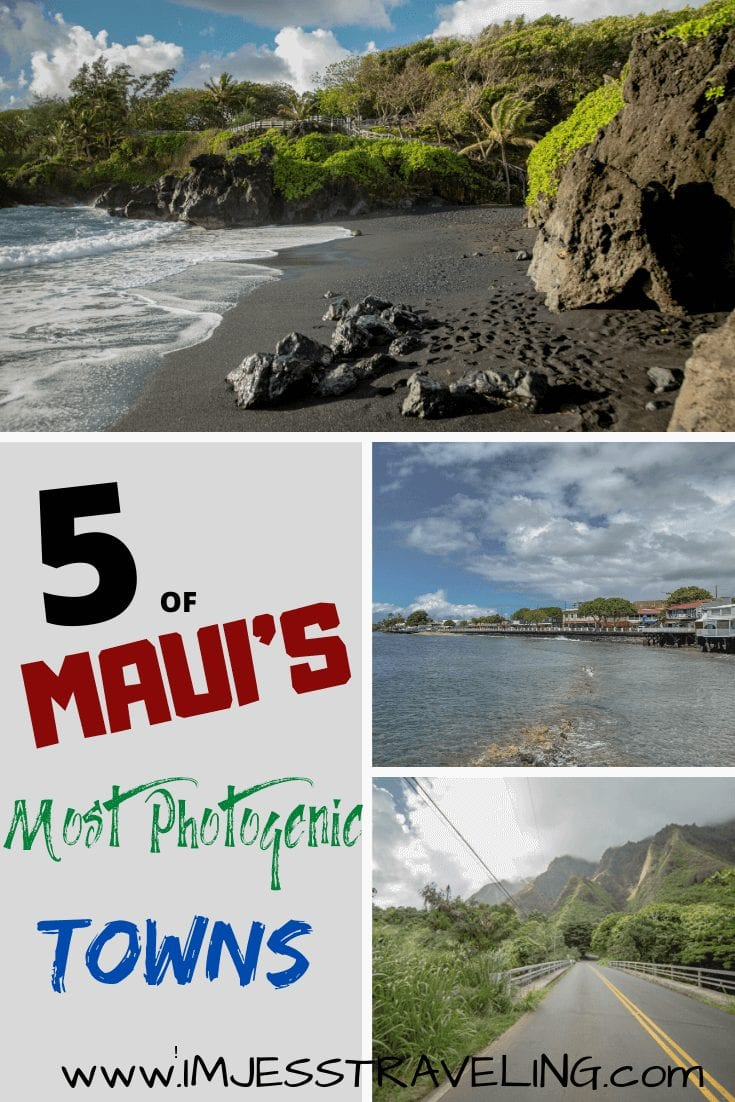 Maui's most photogenic towns  with I'm Jess Traveling