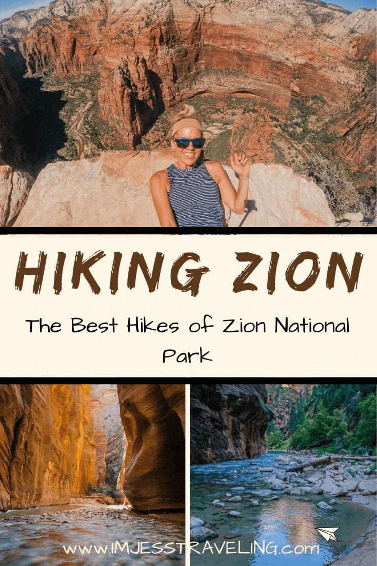 Hiking Zion National Park with I'm Jess Traveling