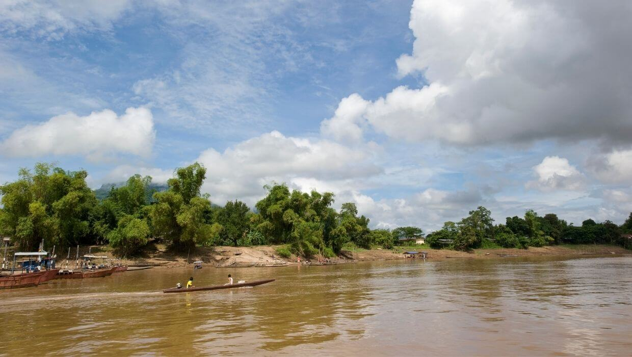 Taking the slow boat journey down the Mekong River, Laos