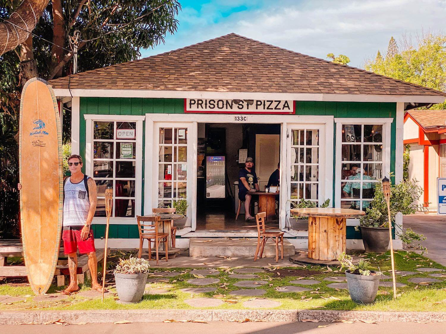 Prison Street Pizza a cheap restaurant in Lahaina