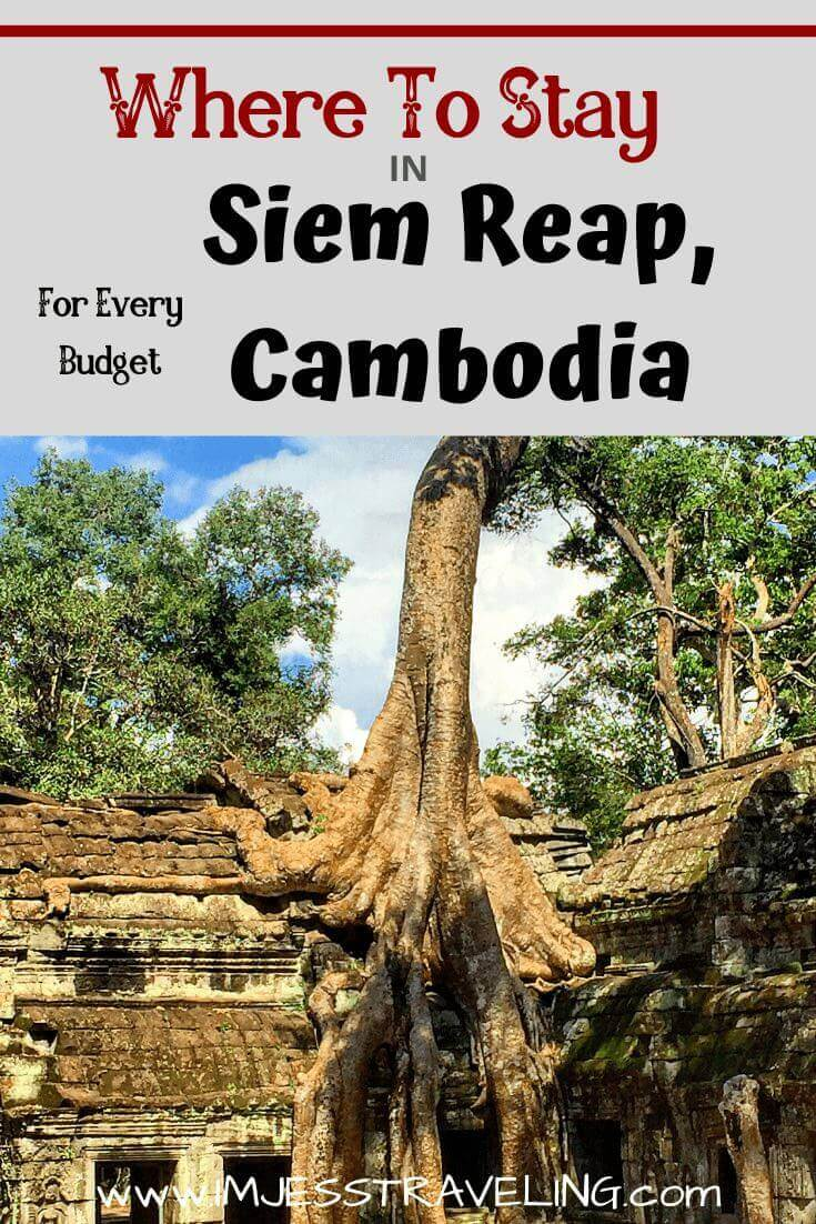 The best places to stay in Siem Reap written by I'm Jess Traveling
