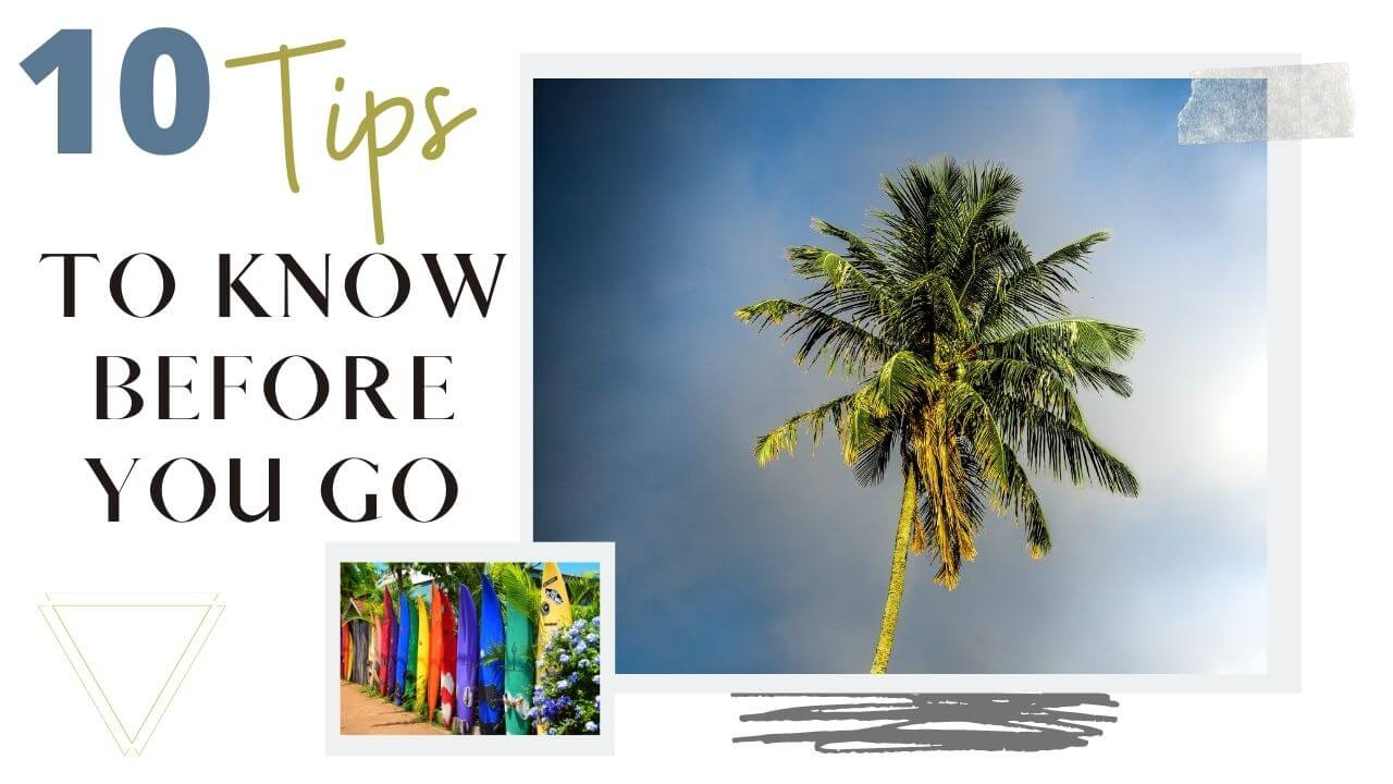 Maui travel tips to Know before you go
