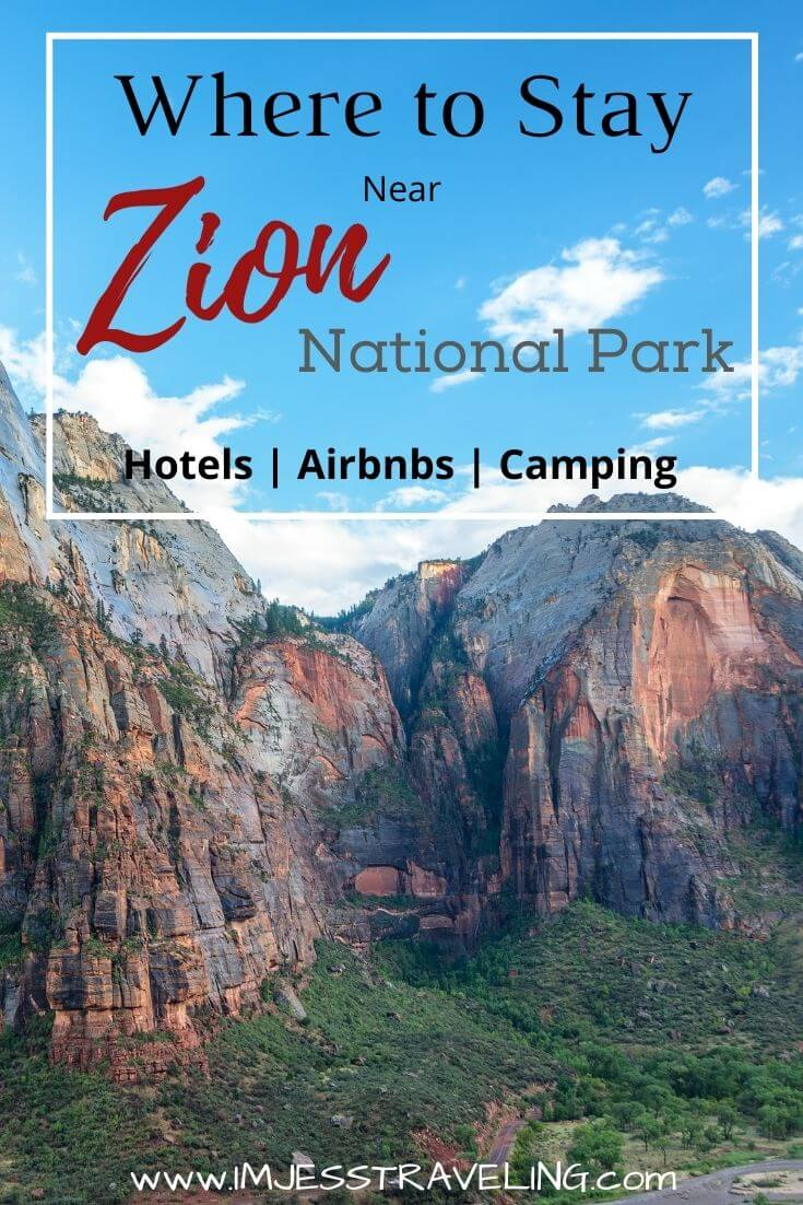 Best Places to Stay in Zion National Park with I'm Jess Traveling