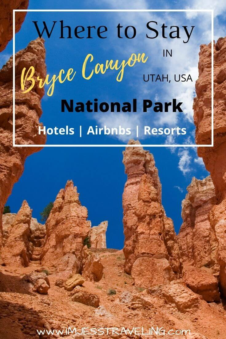 Where to Stay in Bryce Canyon National Park with I'm Jess Traveling