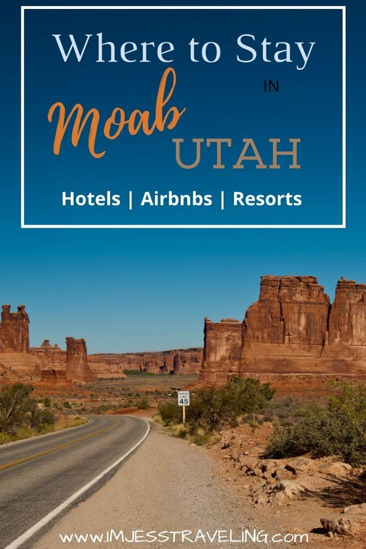 The Best Places to stay in Moab with I'm Jess Traveling