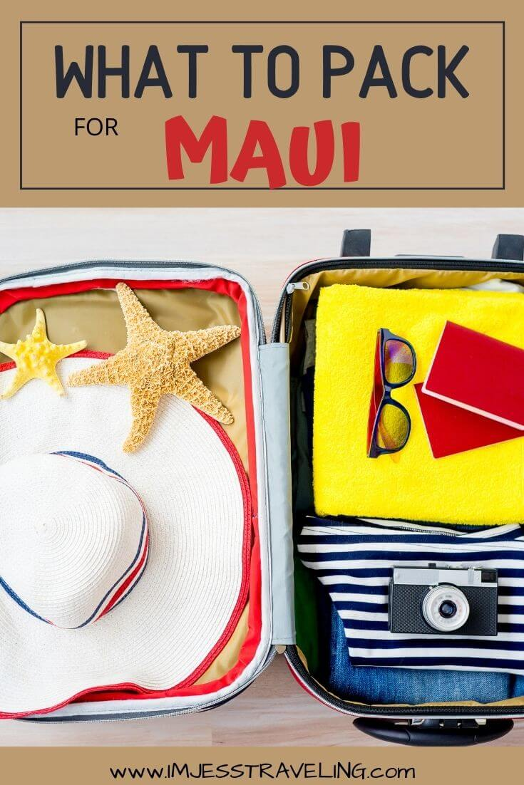 What to Pack for Maui in a carry on