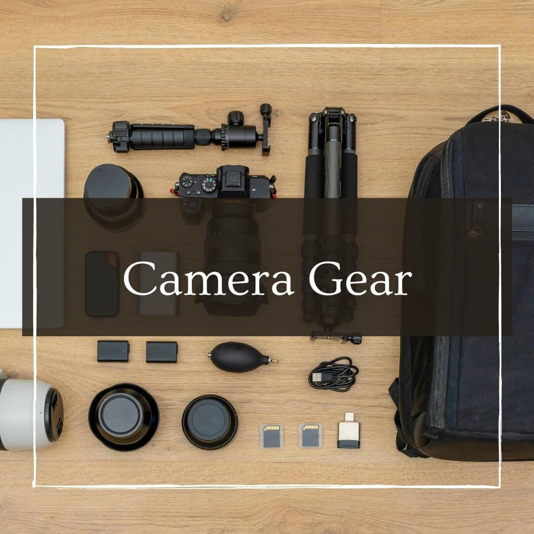 Camera Gear with I'm Jess Traveling