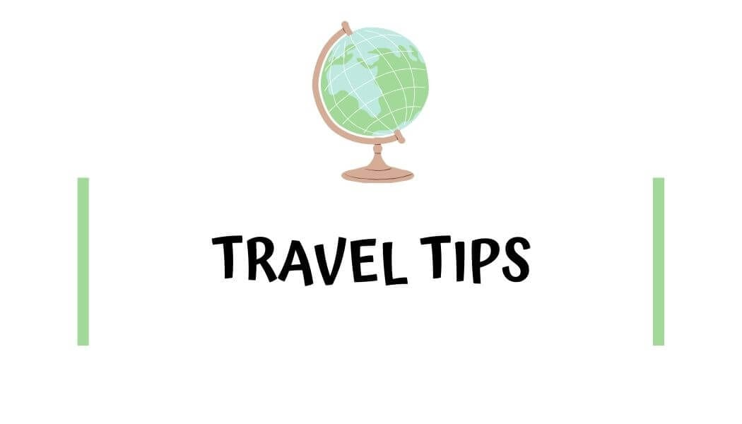 travel tips with I'm Jess Traveling