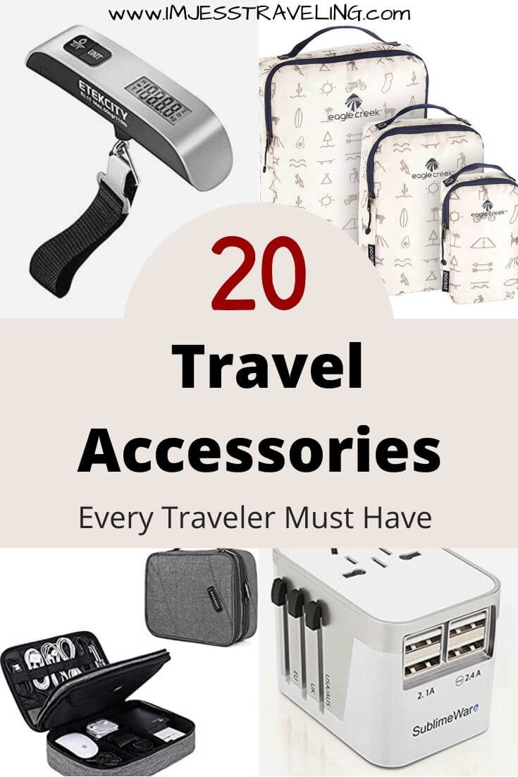 Travel Accessories every Traveler Needs with I'm Jess Traveling