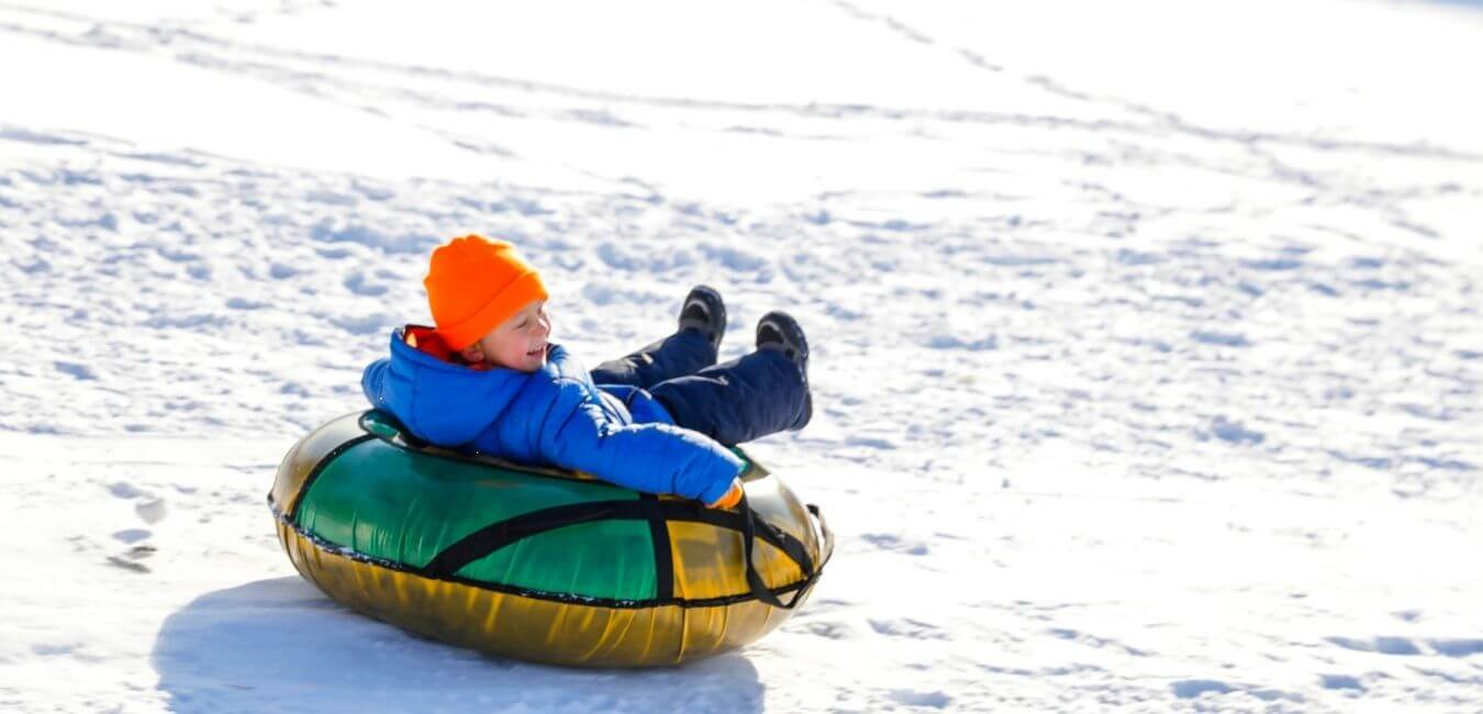 Snow tubing, a unique thing to do in the winter in Vail