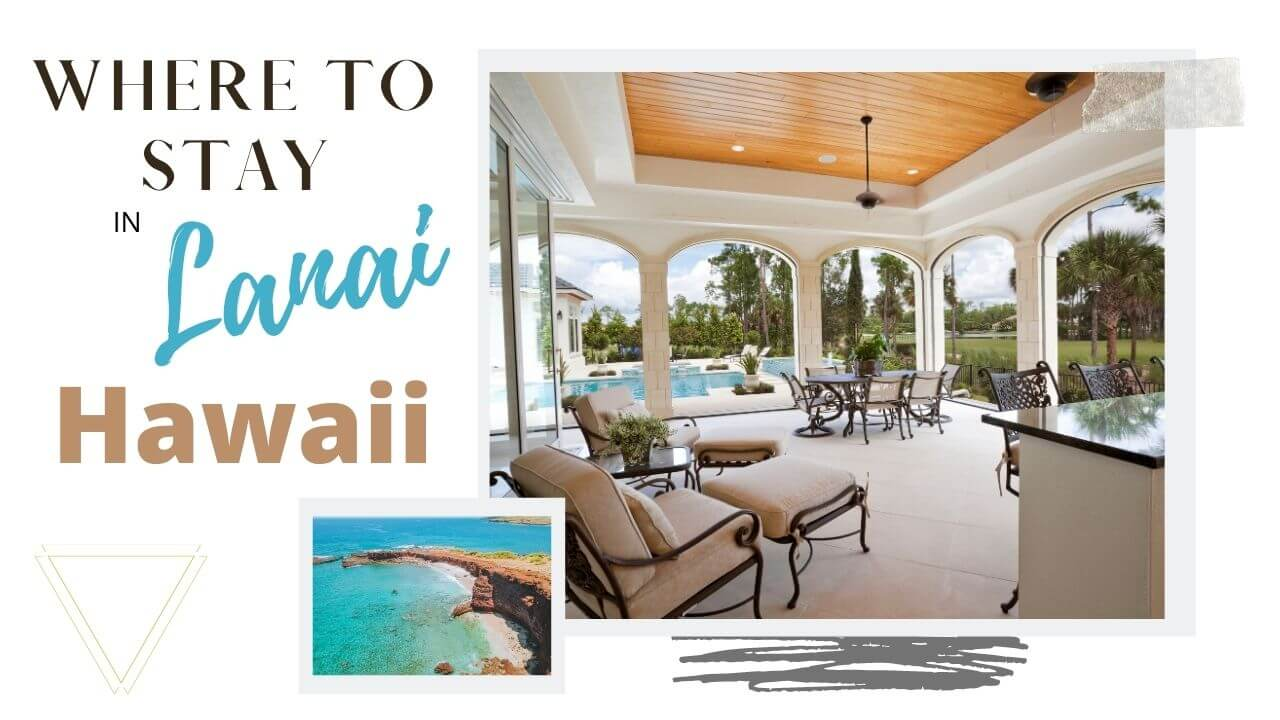 The best places to stay in lanai with I'm Jess Traveling