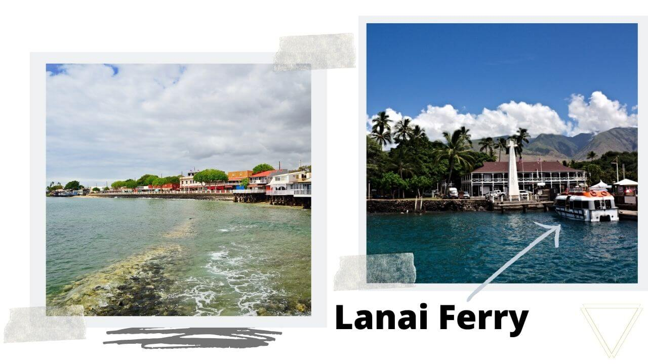 where to stay in lahaina to day trip to Lanai
