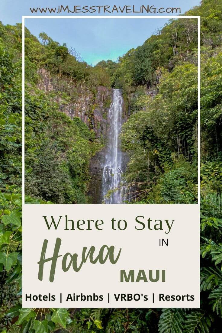 Where to stay in Hana, Maui