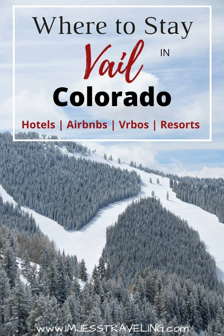 Where to stay in Vail Colorado