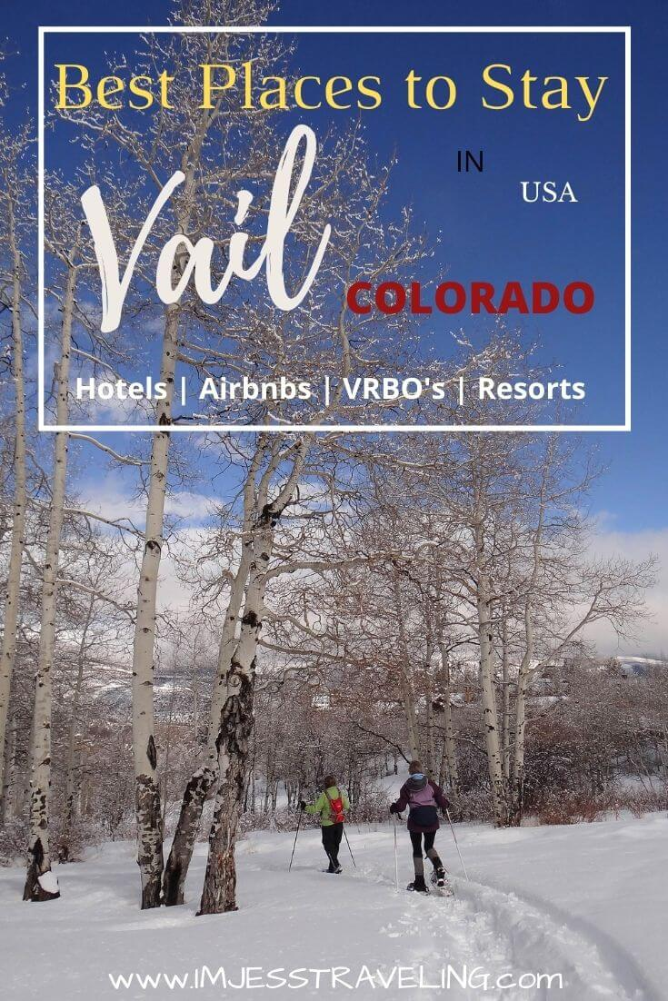The best places to stay in Vail