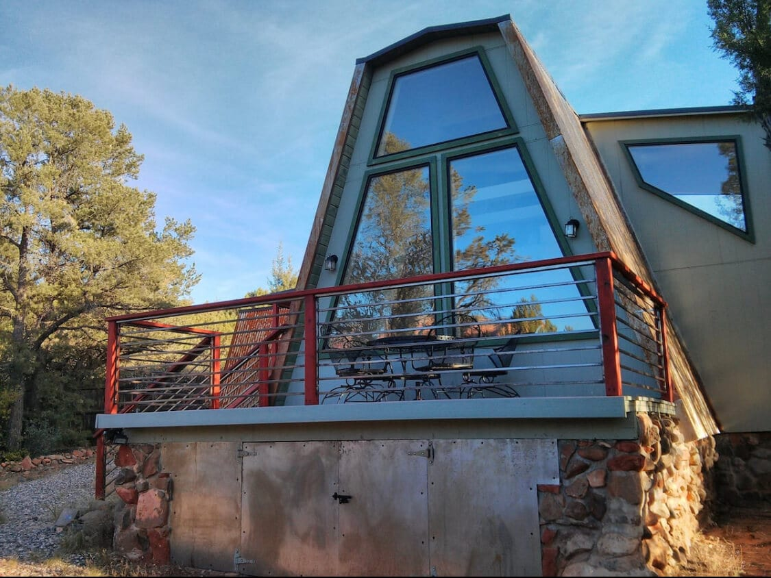 A cheap airbnb in Sedona AZ