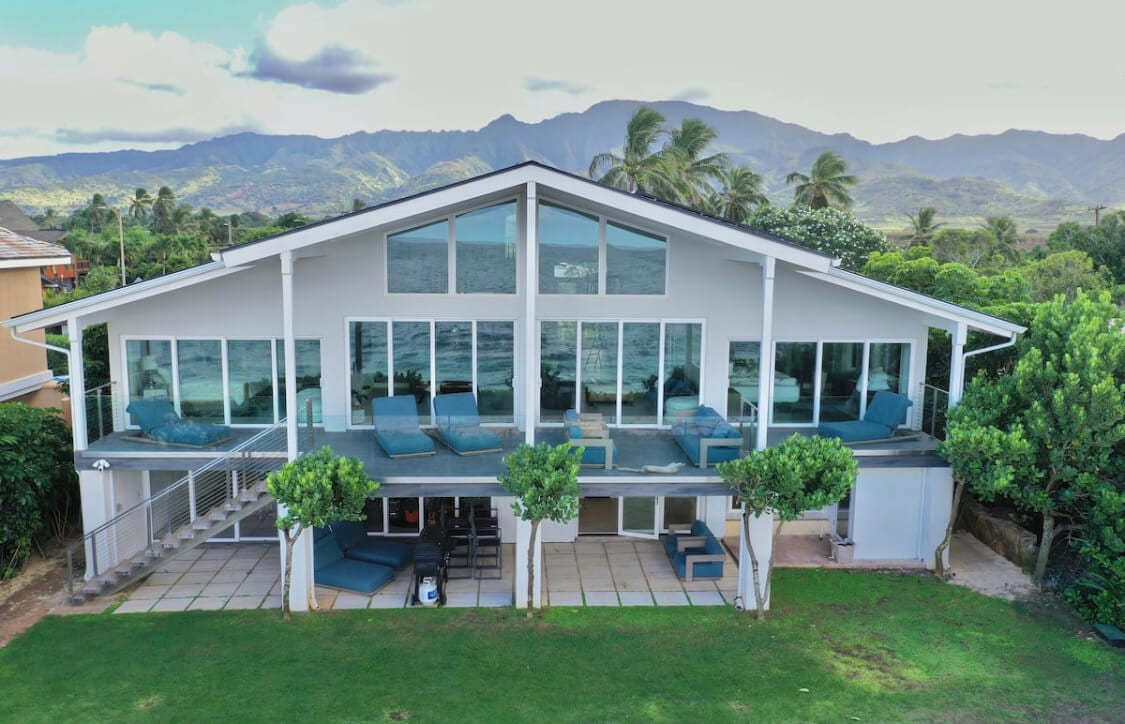 House of Glass airbnb in Oahu