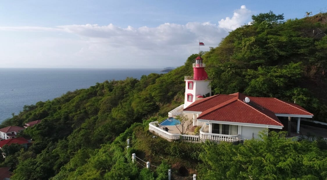 Lighthouse Airbnb in Costa Rica