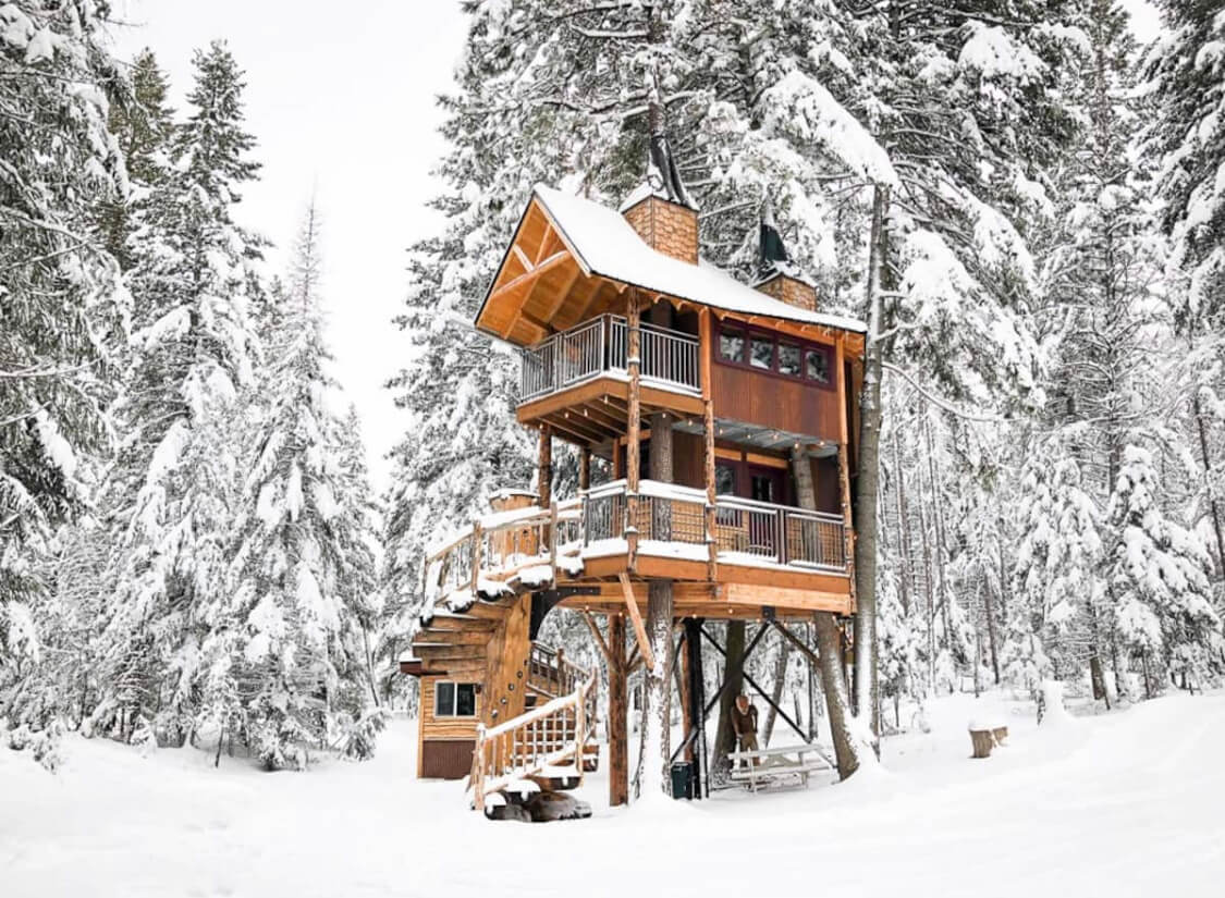 Meadowlark treehouse Airbnb