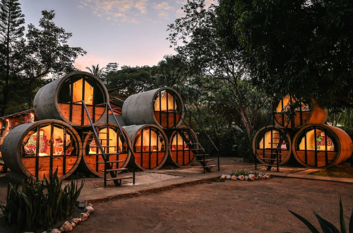 The Pipe House Hostel Airbnb Costa Rica
