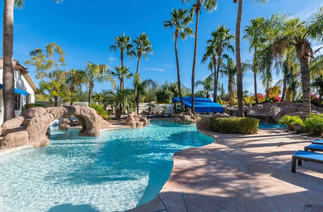 The Pool House Airbnb in Scottsdale