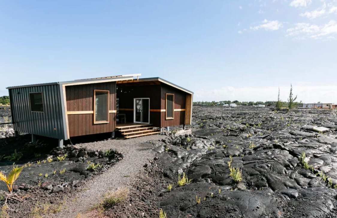 Tiny home airbnb on the Big Island