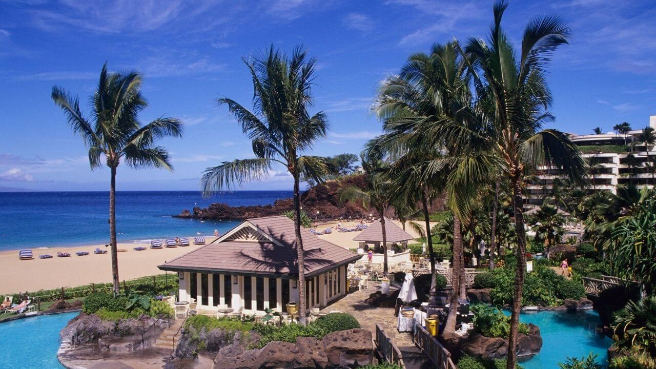 Luxury resort on Maui