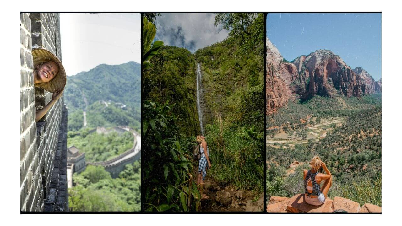 Fitness Travel of Hiking