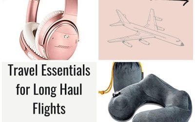 Long Haul Flight Essentials Every Traveler Must Have