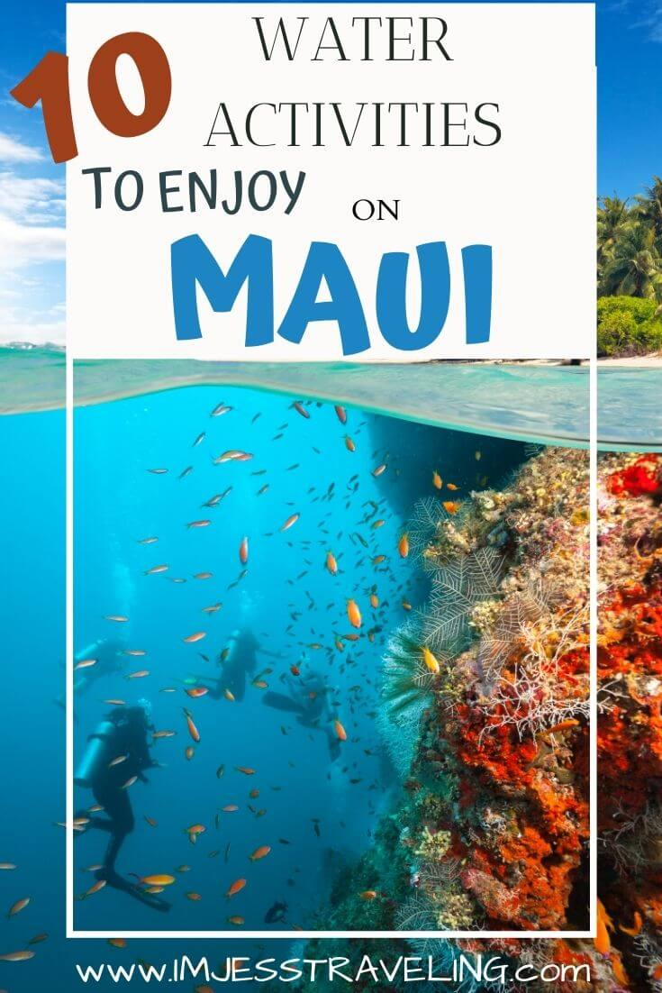 10 Things to do in Maui on the water