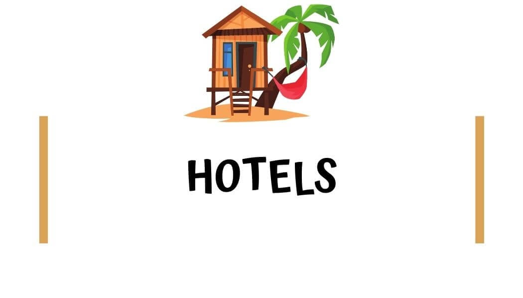 What hotels are in Hana?