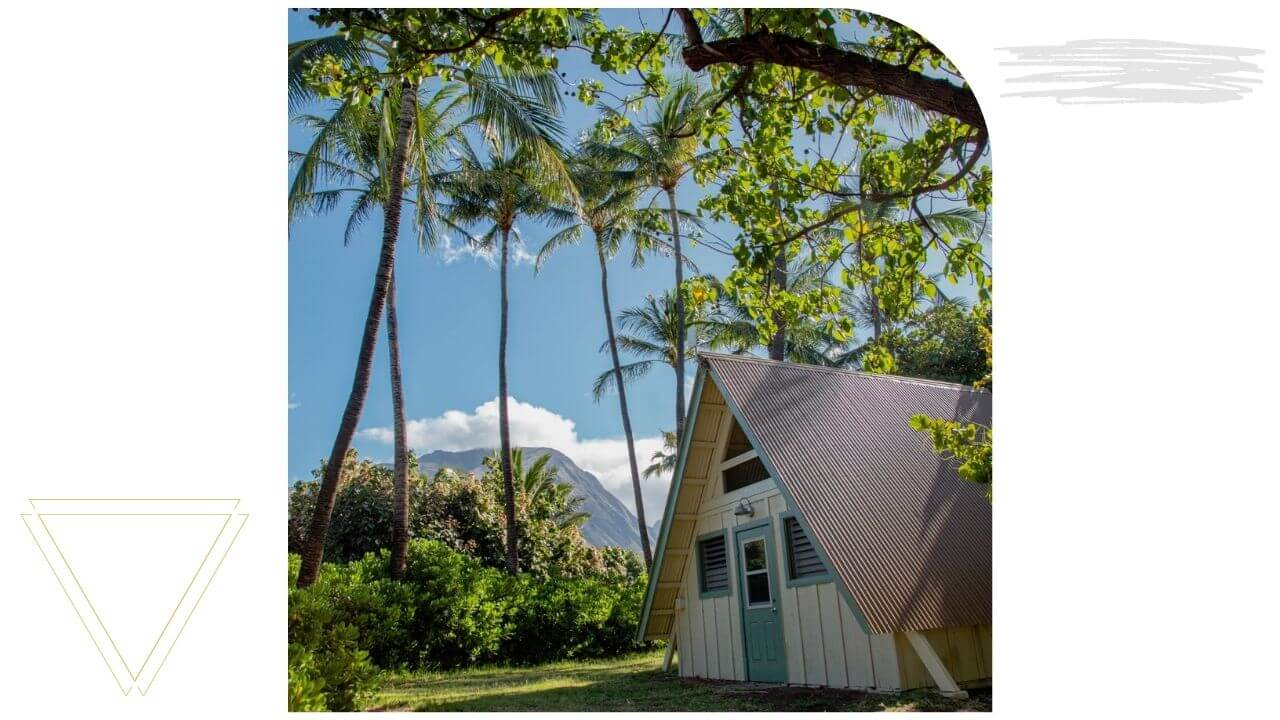 Staying at camp Olowalu on West Maui
