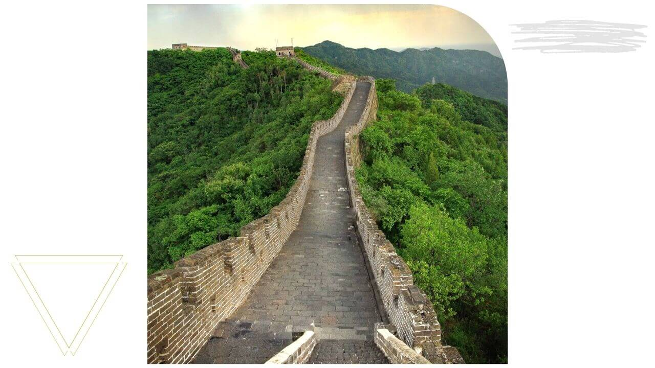 The Great Wall of China outside Beijing