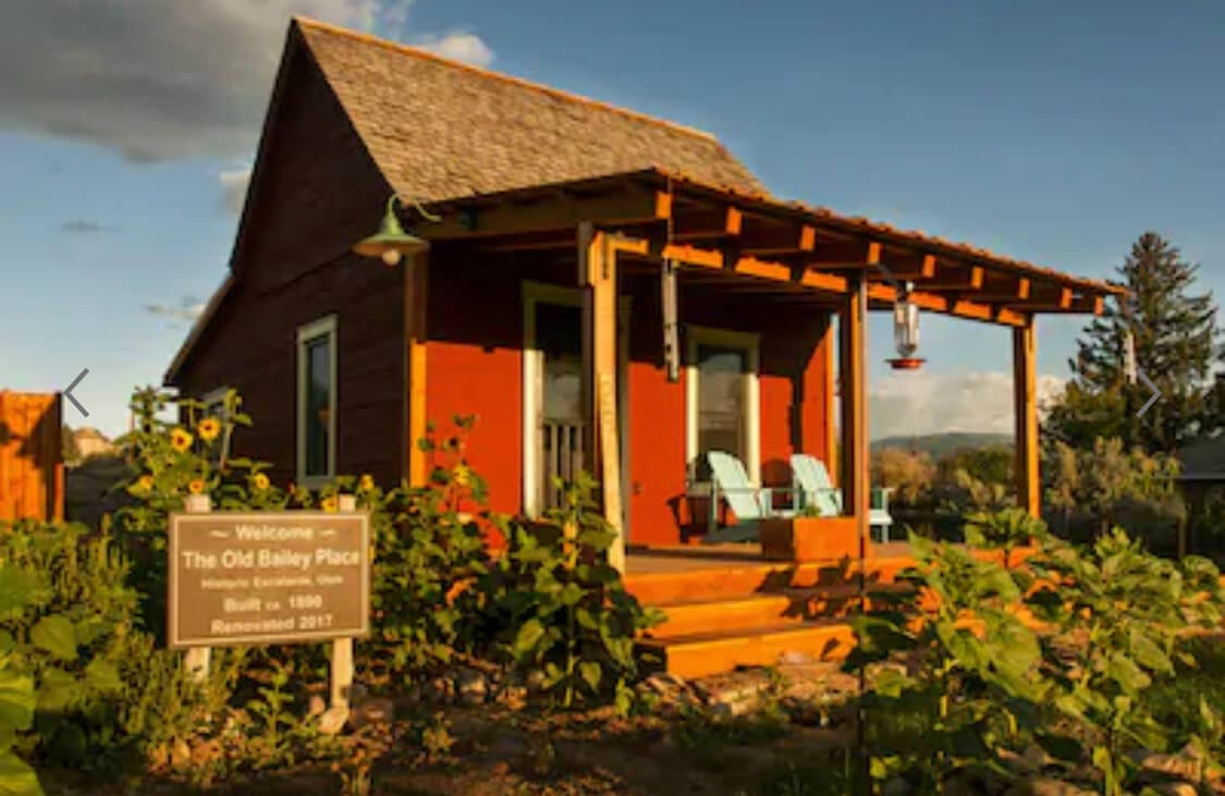 Stay in a historic pioneer home in Utah