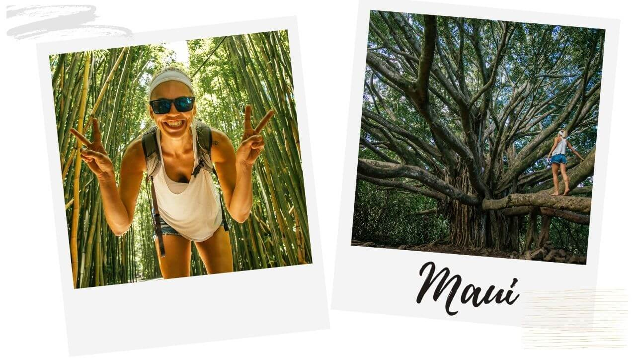 Places in Maui with I'm Jess Traveling