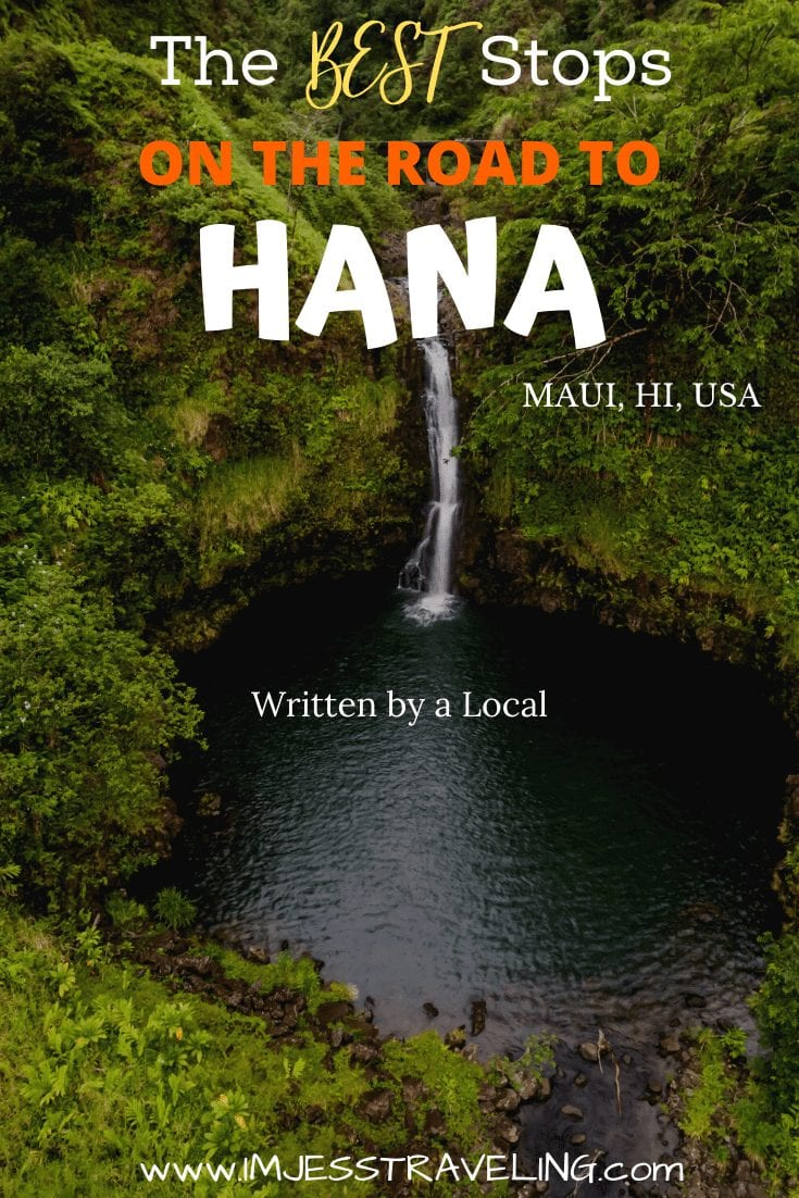 The best road to Hana stops .