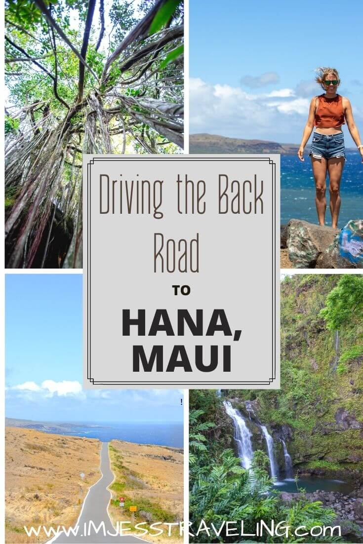 Driving the back road to Hana with I'm Jess Traveling